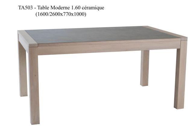 TABLE CERAMIQUE