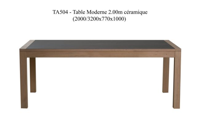 TABLE CERAMIQUE